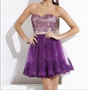 Rachel Allan Homecoming Dress